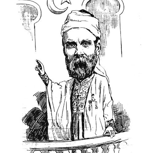 <h2>1888</h2> <p>He renounced Christianity at the age of 32, changed his name to Abdullah and announced his conversion in the Liverpool media.</p>  <h4><strong></strong>Public announcement of conversion to Islam</h4>