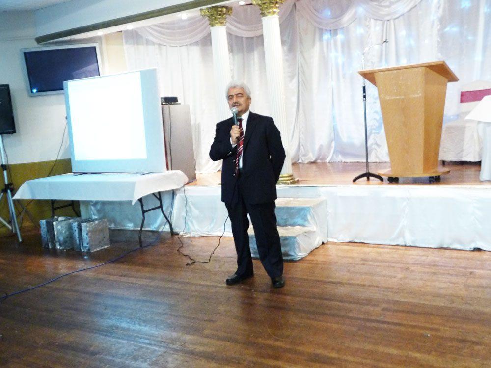 Prof. Mehmet Seker, Dokuz Eylul Uni.