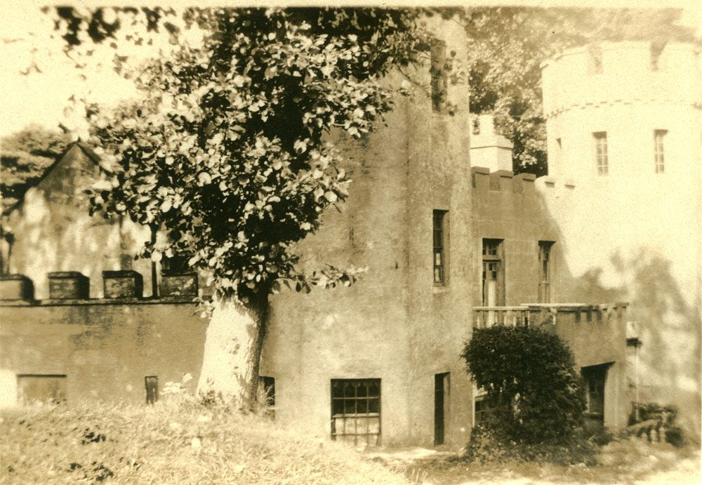 Abdullah Quilliam's residence on the Isle of Man-old photo