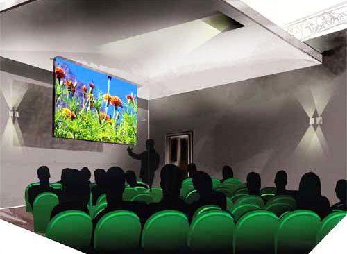 Concept visual - Abdullah Quilliam Heritage Centre   Lecture Room