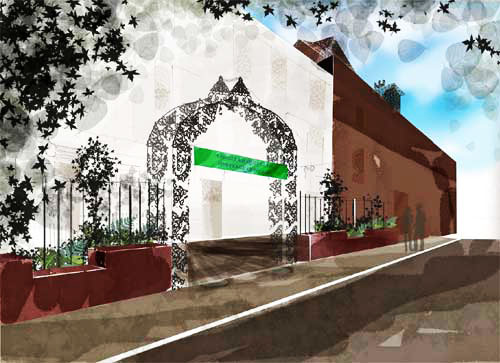 Concept visual - Abdullah Quilliam Heritage Centre| NEW MAIN ROAD ENTRANCE