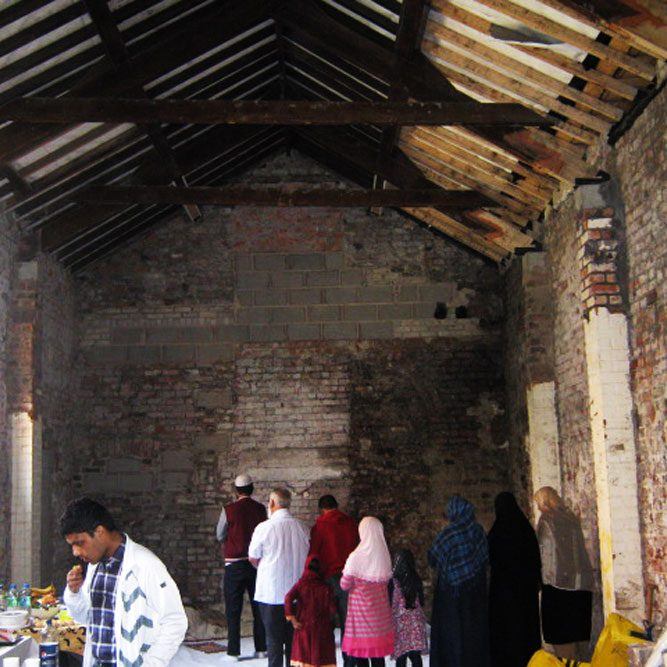 "<h2>2012</h2> <h4>Open Day at the historic mosque</h4> <p><b>Speakers:</b>Jahangir Mohammed and Galib Khan.<br/> <i>""…As non-Muslims we were made to feel very welcome and found the talks and the tour very interesting…""</i><br/> <small>Carmel Malone and Roy Middleton</small> </p>  <h4>September 2nd, 2012</h4>"