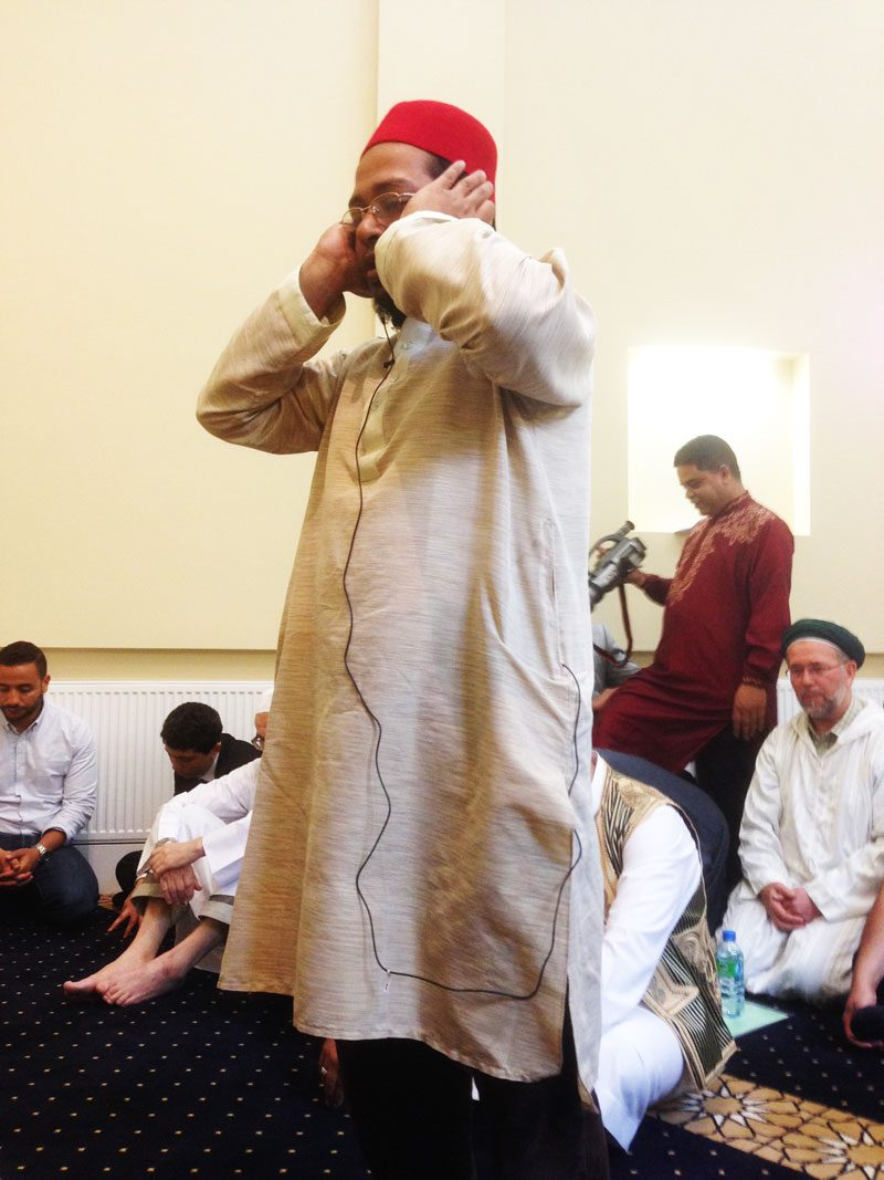 First call to prayer (adhan) after 100 years
