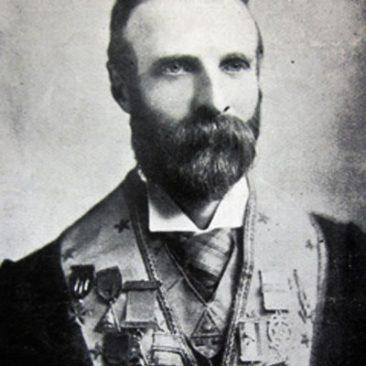 """Bro. W.H.A. Quilliam"", courtesy of the West Lancashire Freemasons website"