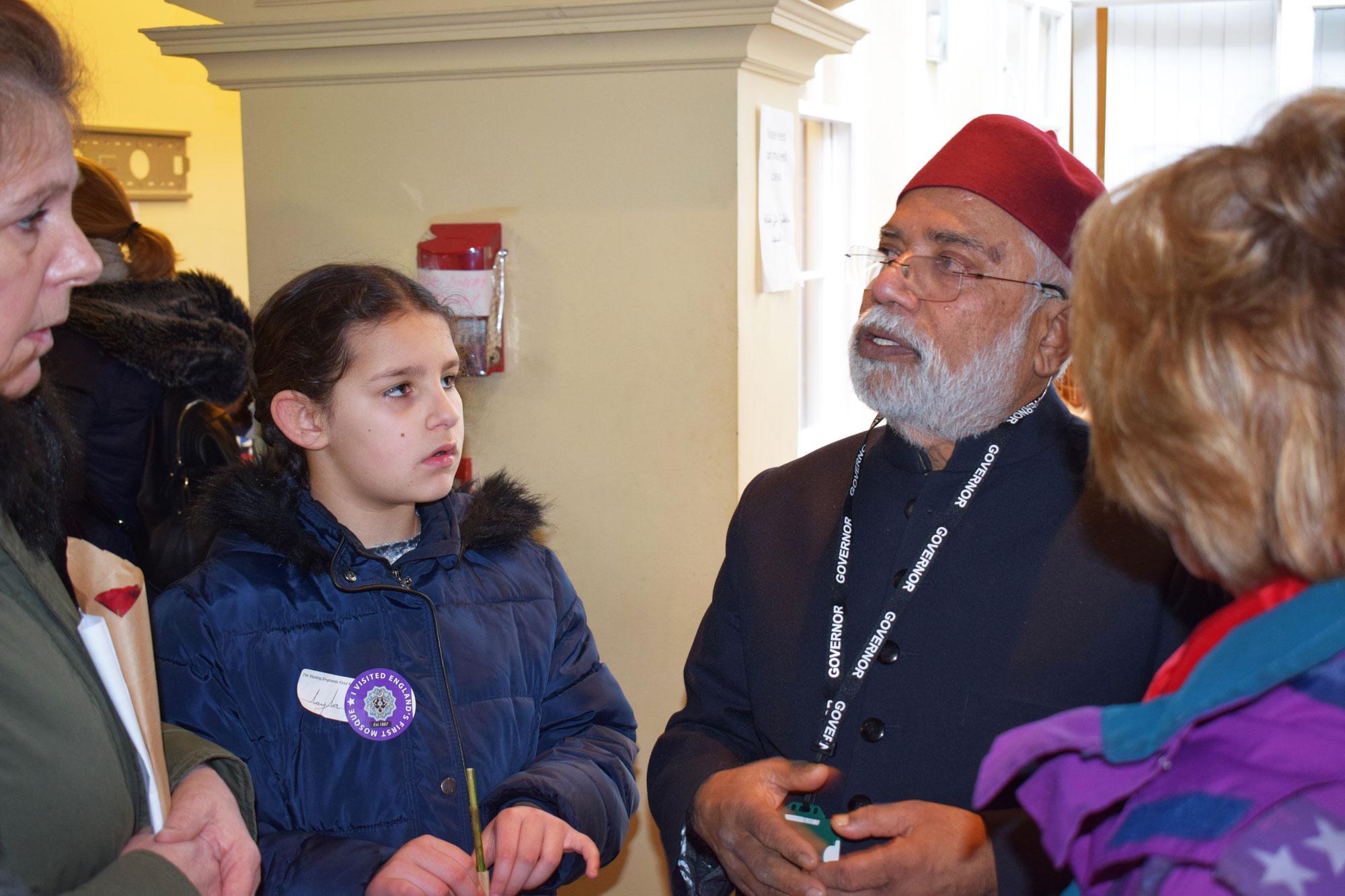 Galib Khan - Heading the Mosque Tour