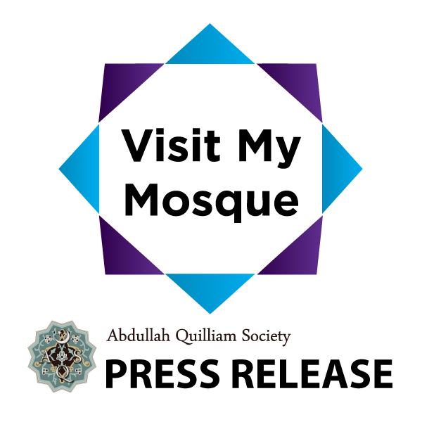 Visit My Mosque 2018 – PRESS RELEASE