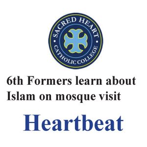 6th Formers learn about Islam on mosque visit